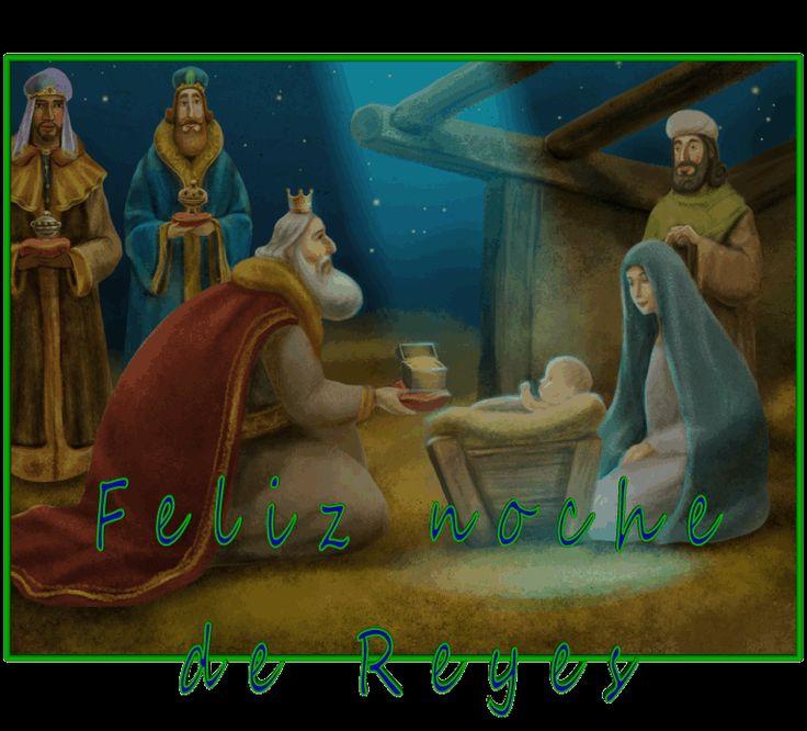 Resultado de imagen de gifs feliz noche de reyes