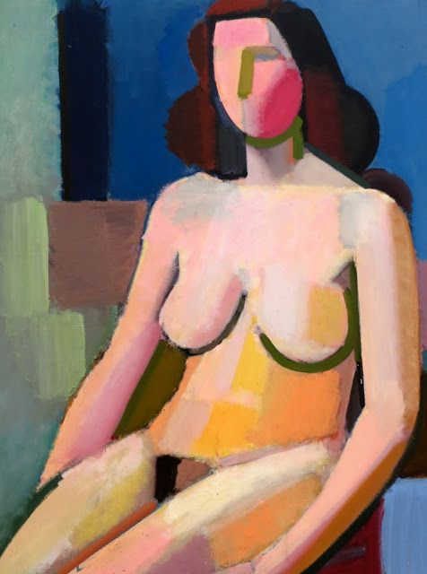 Vilhelm Lundström (1893-1950) was een van Denemarken de meest succesvolle modernistische schilders. Hij was het die het kubisme introduceerde in Denemarken. Hij wordt herinnerd door zijn geometrische stillevens met sinaasappelen, zijn schilderijen met naakten en zijn schilderijen van flessen, flacons en kruiken. Zijn stijl werd gekenmerkt door duidelijke, heldere lijnen en weinig kleuren.