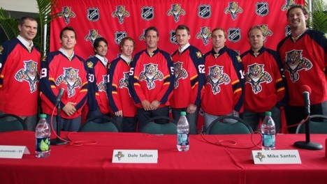 This year's new-look Florida Panthers made sure to keep one tradition alive this season. The Panthers have always been very active in the Florida community and they made sure to keep that going this year. #NHL #Panthers #Florida #hockey #charity #community #sports