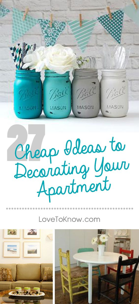 Decorate Your Apartment Cheaply By Repurposing And