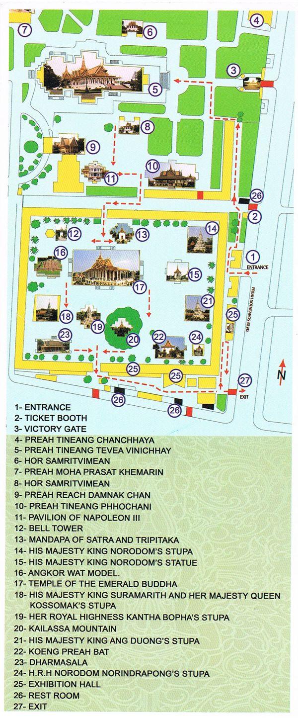 2 jours pour visiter  Phnom Penh #Cambodge