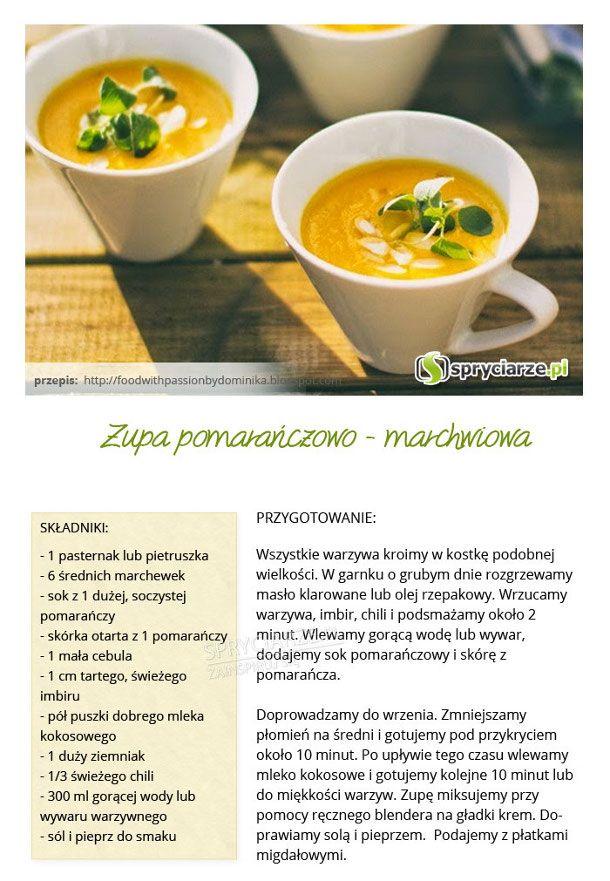 Przepis na zupę pomarańczowo-marchwiową