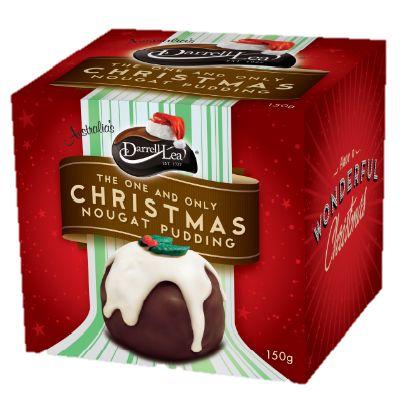 Darrell Lea Christmas Nougat Pudding