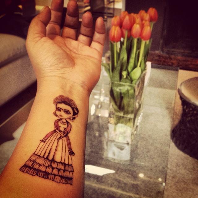 Frida tattoo :)