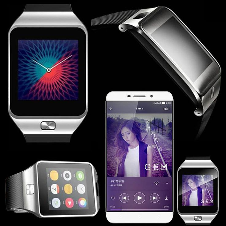 Smart Bluetooth Watch For Apple iPhone IOS Samsung LG Sony HTC Android Phone #UnbrandedGeneric