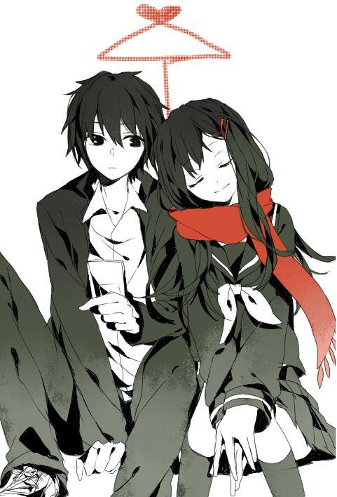 Shintaro and Ayano // Kagerou Project