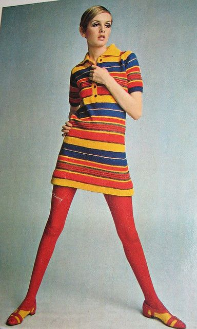 Twiggy Striped Dress 2 by Pennelainer, via Flickr