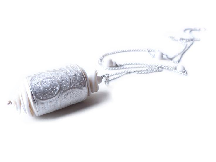 Kathrin Dunst- Kette Silber 925/- mit Porzellan © Kathrin Dunst