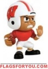 "Wisconsin Badgers Lil' Teammates Series 3 RB 2 3/4"" tall"