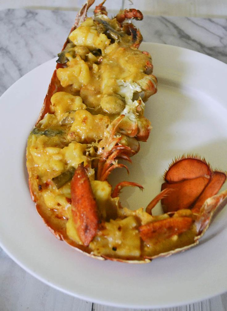 Julia Child's Lobster Thermidor
