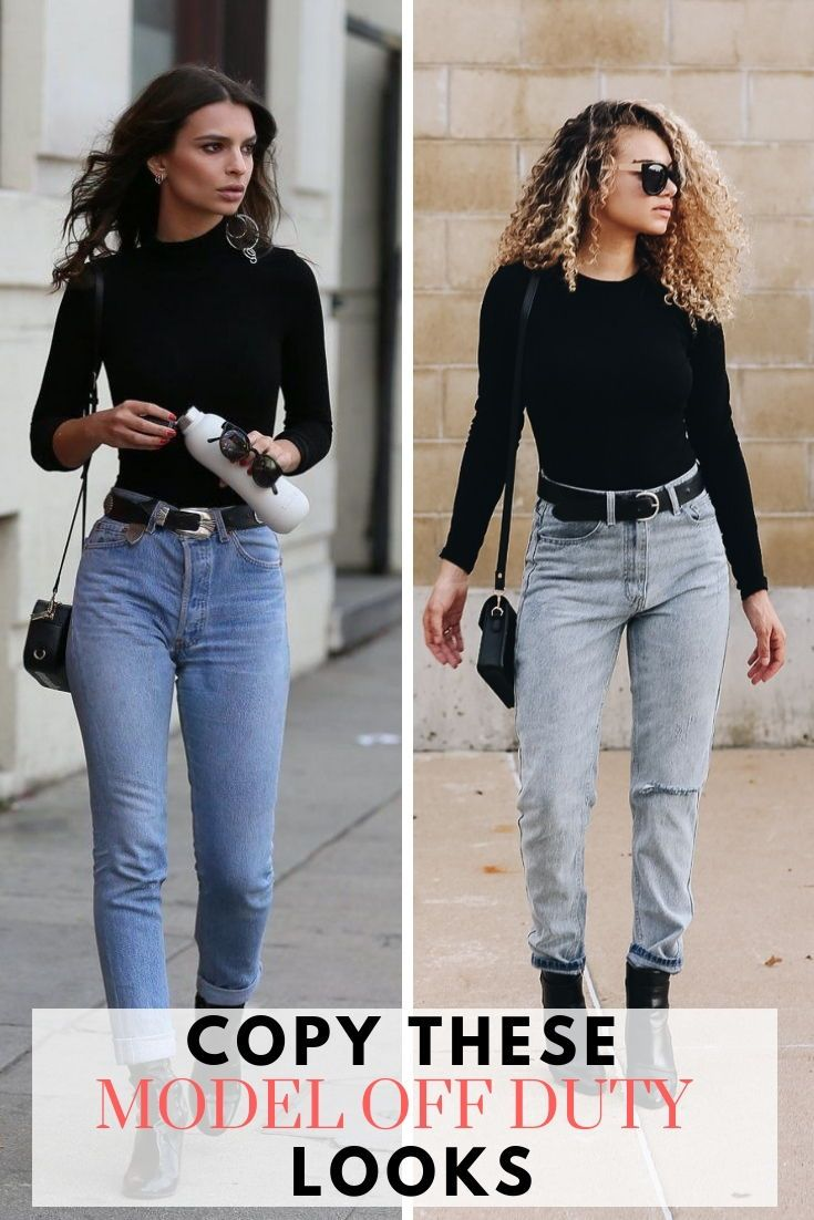 7 Model Off Duty Looks You Can Master Now Models Off Duty Model