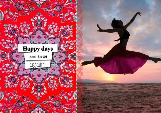 Happy days are here again (© Happinez BV)