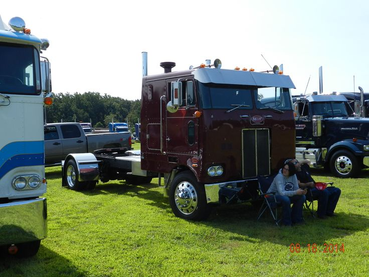 Custom Single Axle Trucks : Single axle pete truck shows pinterest