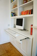 Built in Alcove study desk.  This is the idea for the study area in living area.