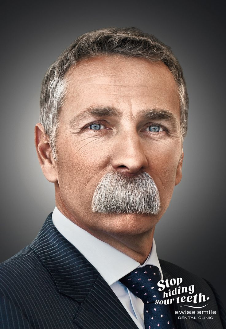 Swiss Smile Dental Clinic...just really a cool stache.