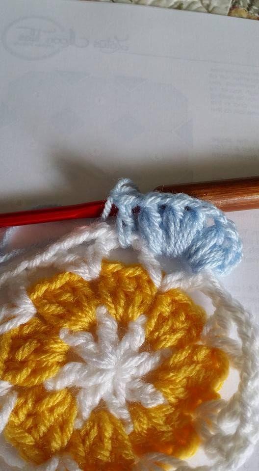 Çiçekli Battaniye Modeli Yapılışı 15