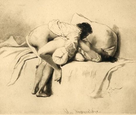 LOVE AND DEMONS: THE 19TH CENTURY EROTIC ART OF MIHÁLY ZICHY (NSFW)