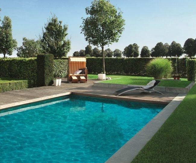 9 best Piscine amenagement images on Pinterest Swimming pool decks - amenagement bord de piscine