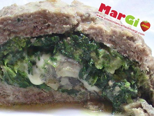 Polpettone di carne: ricetta polpettone di carne e verdure filanti