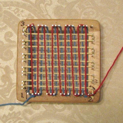 Pin Loom Weaving - A Photo Tutorial - on the Mielke's Fiber Arts blog