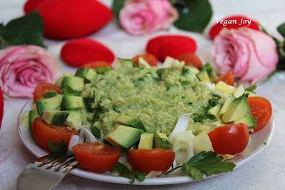 vegan joy: Quinoa salad with endive!