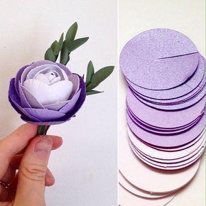 Λουλούδια απο τσόχα! http://scrap-crafts.gr