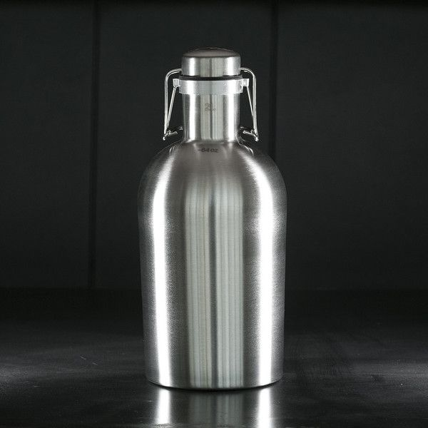 Epic water bottle!  Stainless Steel Growler - Cool Material