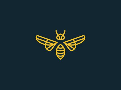 This is a logo, but I like the way something like this could nestle into zentangle and not be noticed unless you know it is there. Would be great to include a bumblebee.