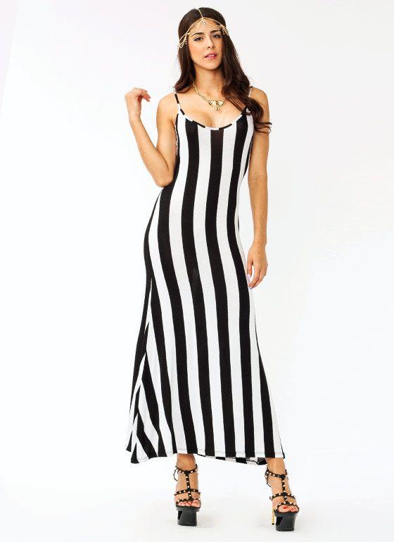 leather billfold Backless Striped Maxi Dress 3640  Shanna39s Wishlist