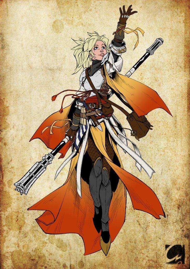 Mercy (Overwatch),Overwatch,Blizzard,Blizzard Entertainment,фэндомы,ElectroCereal,Overwatch art