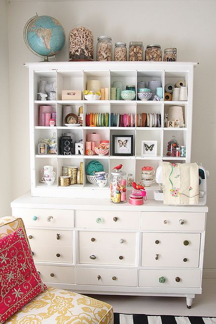 Lovely Studio Storage Hutch Cabinet by debee{art)