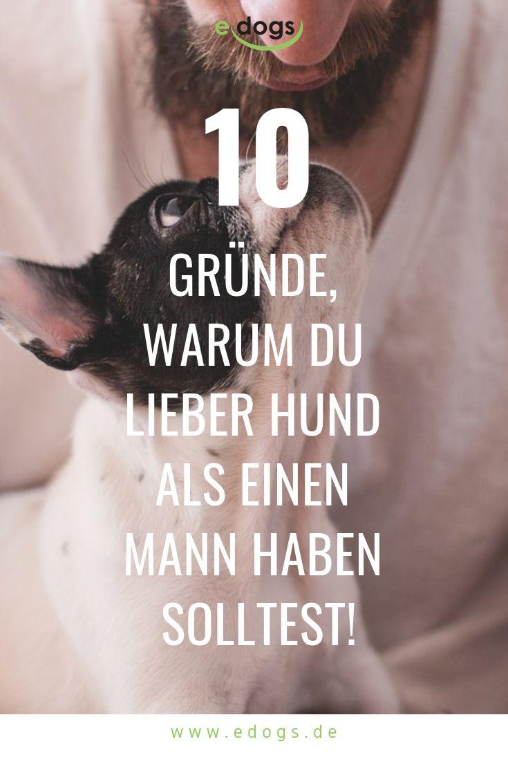 Hund oder Mann? 10 Gründe für den Hund!