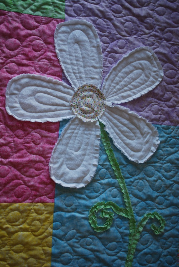 27 best Stephs daisy quilt images on Pinterest | Baby quilts, Baby ... : daisy quilts - Adamdwight.com