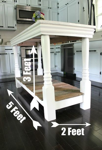 Kitchen Island Diy Projects: 17 Best Images About Kitchen Islands On Pinterest