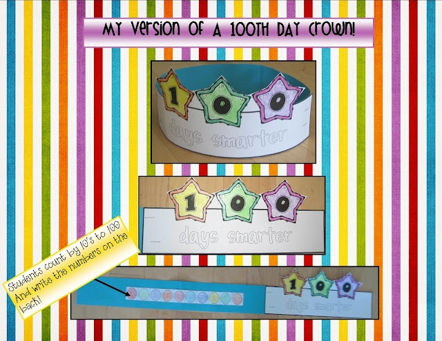 1000 images about 100th day activities on pinterest for 100th day of school crown template
