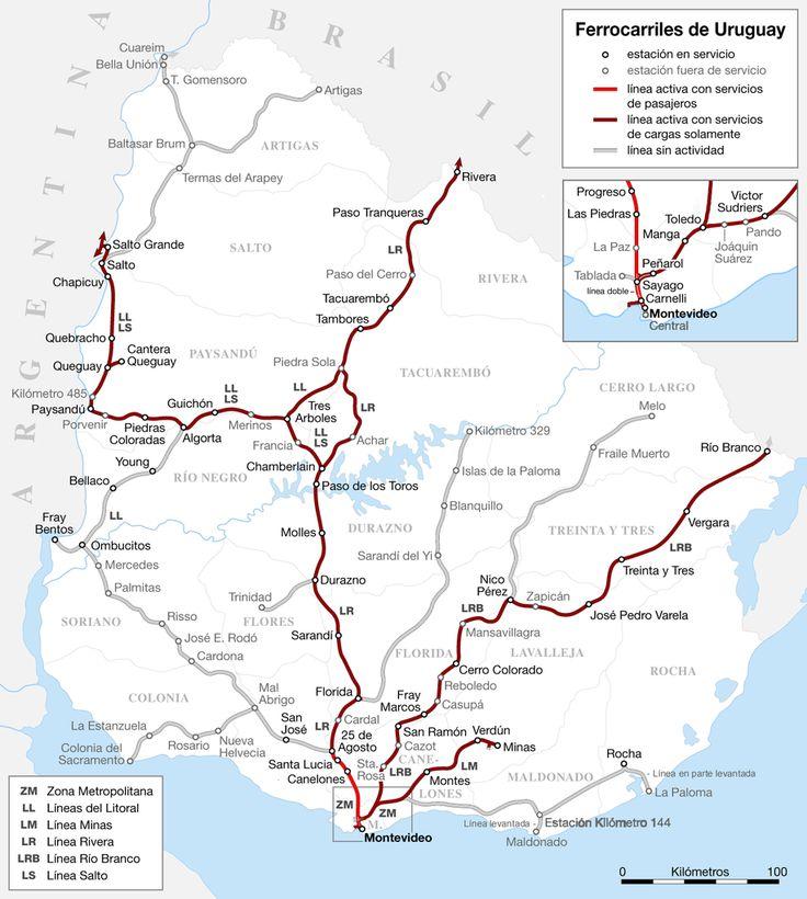 Railways of Uruguay