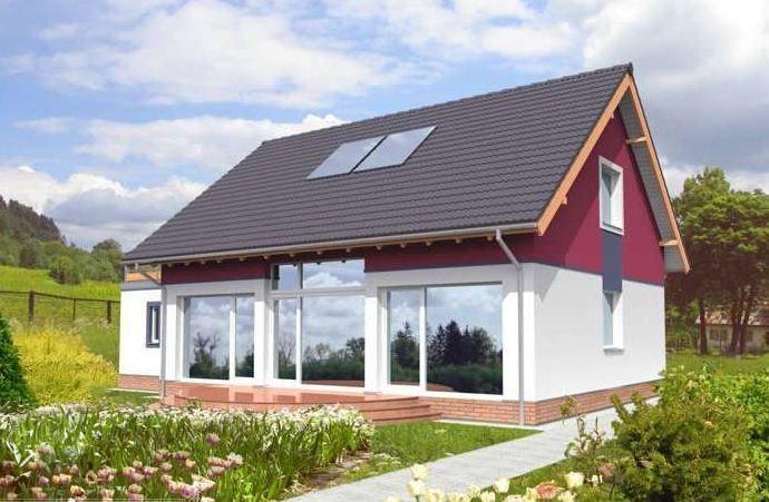 Видно, что к дизайну этого домика подошли с особенным трепетом, ведь он получился очень милым и ярким. Особую изюминку ему придают отражающие оконные стекла.
