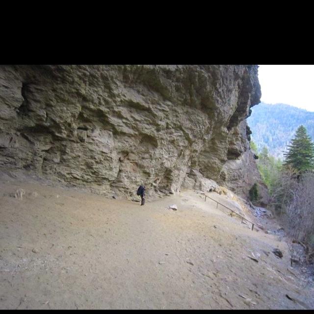 Alum Cave Trail to Mt. Leconte.