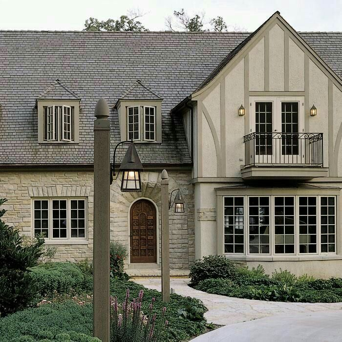 263 best tudors images on pinterest exterior colors - Tudor revival exterior paint colors ...