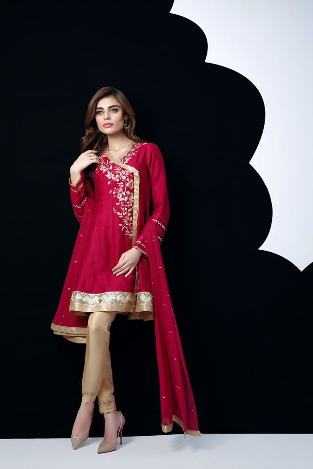 Sania Maskatiya Shades of Autumn Eid Collection 2016