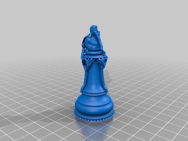 egyedi sakk figura karácsonyra