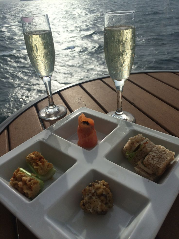 Celebrity Cruises - Aboard Celebrity Eclipse - All inclusive Champagne at sea