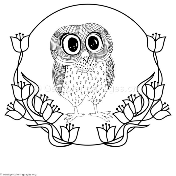 Free Instant Download Zentangle Cute Big Eyes Owl Coloring Pages Rhpinterest: Coloring Pages Big Eyes At Baymontmadison.com