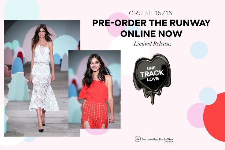 Pre-Order the Runway at www.alicemccall.com/cruise-trunkshow
