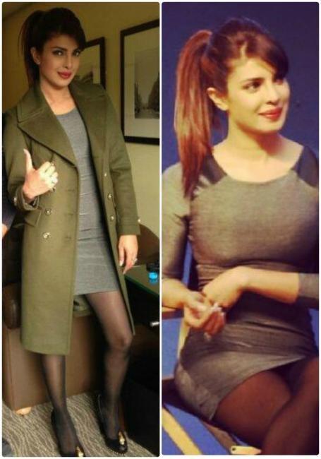Priyanka Chopra goes classy in black |