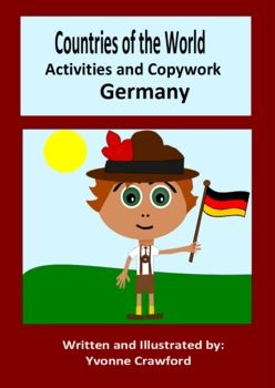 This booklet focuses on the country of Germany. Your students will learn facts about Germany while practicing their manuscript and cursive handwriting and engaging in fun activities. Your students will begin this booklet by cutting out a passport stamp and pasting it on a passport that you can receive by emailing me.