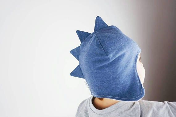 Check out this item in my Etsy shop https://www.etsy.com/uk/listing/469609038/dino-hat-bluefleece-linedear