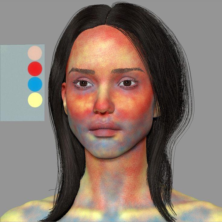 ArtStation - Jessica Alba 3d, Zlost666 .