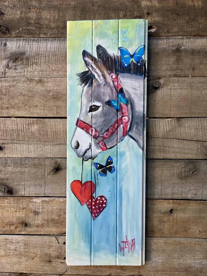 butterfly donkey