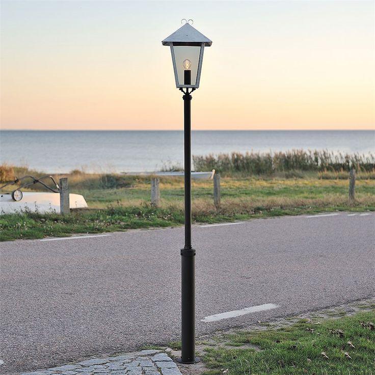 Stolplykta Konstmide E27 Inkl. Stolpe - Stolpbelysning - Utebelysning